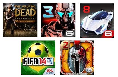 Los mejores juegos HD para LG G3