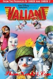 Phim Biệt Đội Bồ Câu - Valiant
