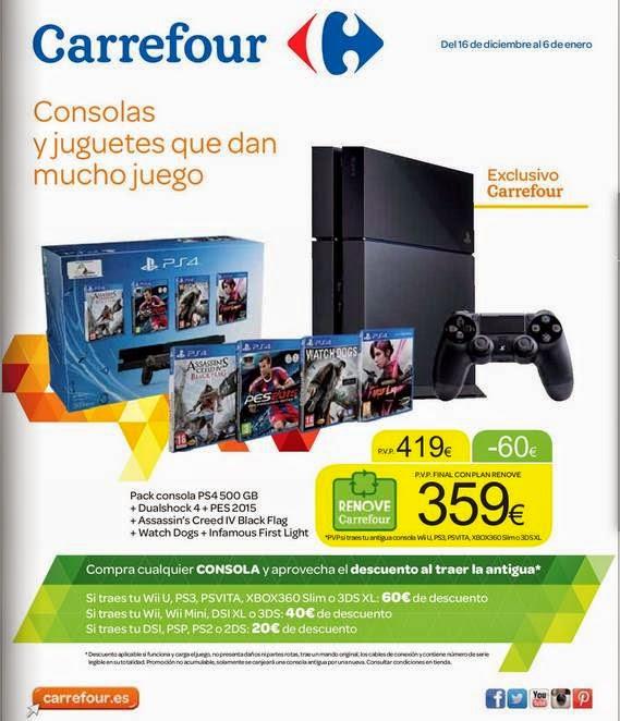 Carrefour Consolas y Videojuegos 2014-15