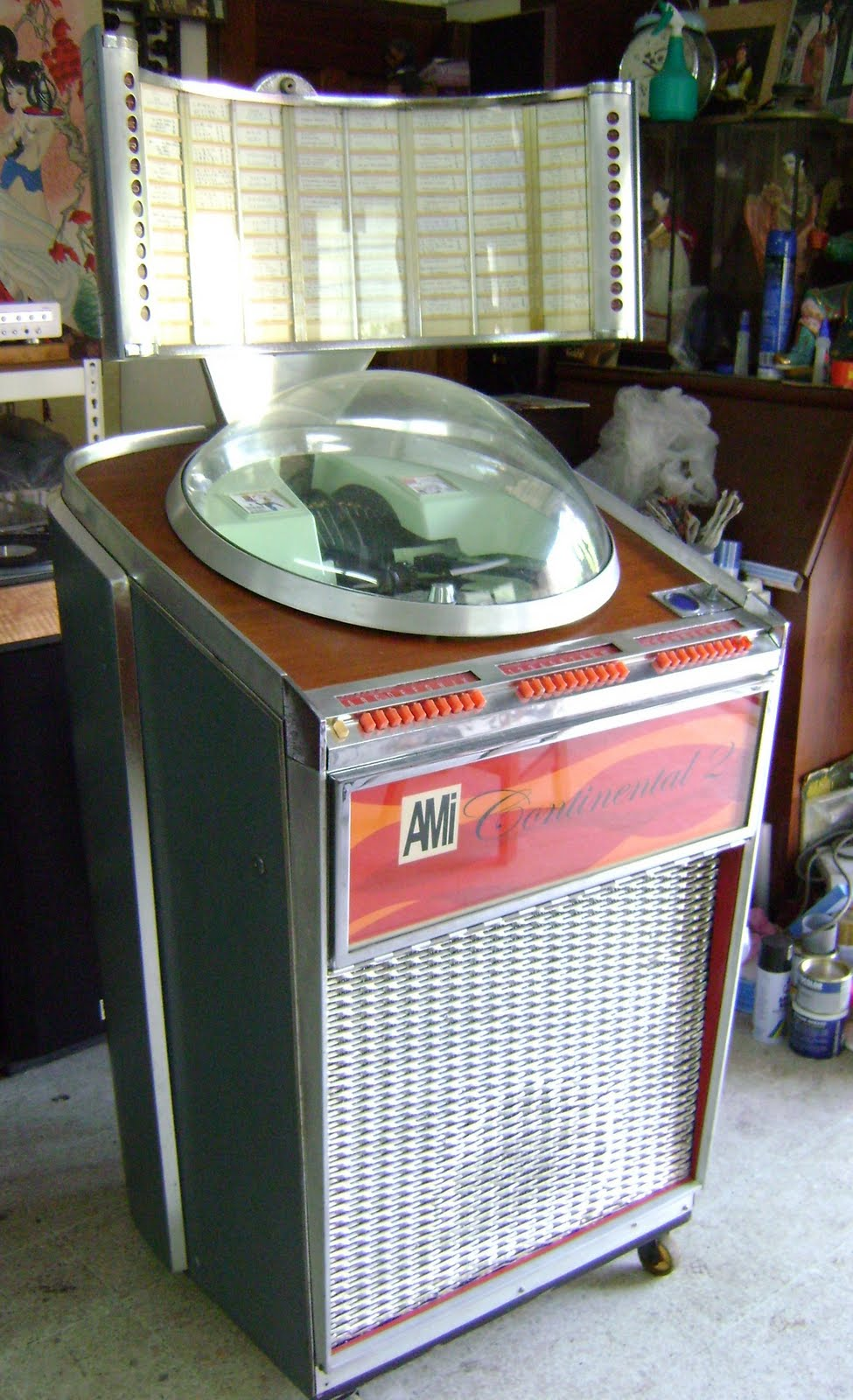 kinta valley audio  ami continental 2 jukebox   used   sold