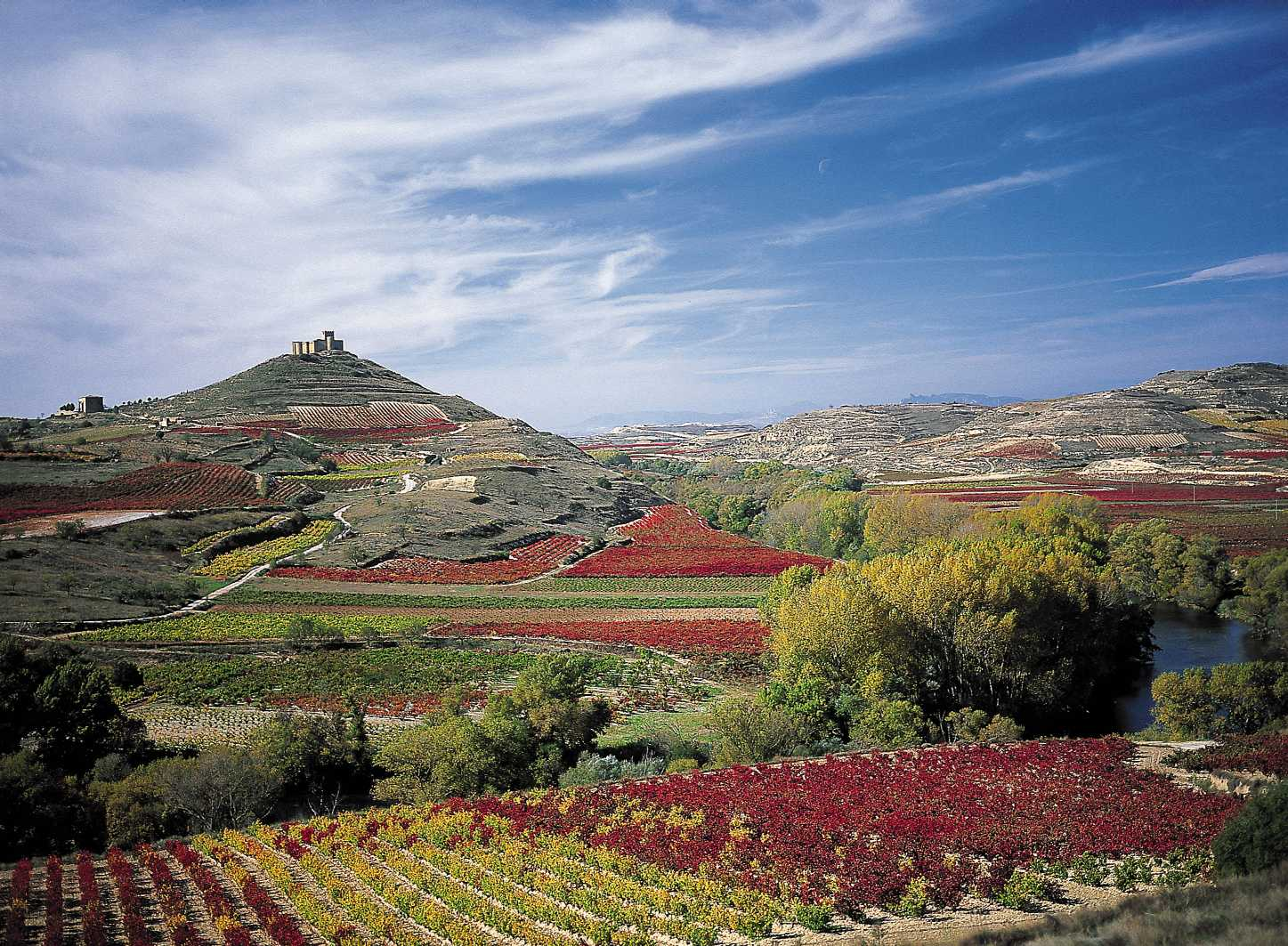La Rioja Spain  city photos gallery : Rioja takes its name from the rio 'river' in Spanish Oja, a ...