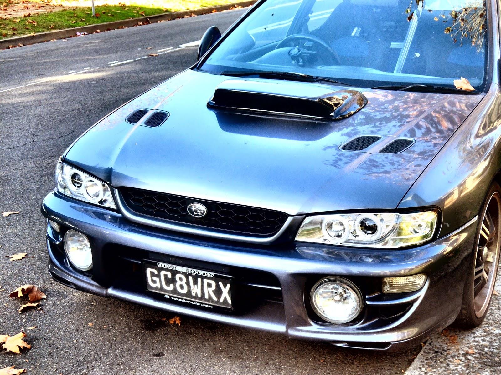 Aussie Old Parked Cars 1999 Subaru Impreza Wrx Sti Gc8g