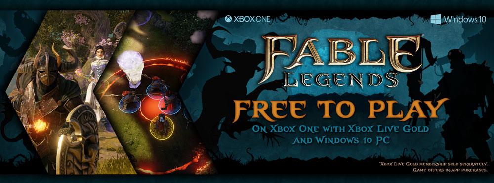 бесплатная версия Fable Legends