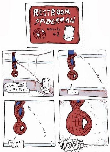 Funny Spiderman Cartoon