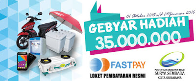 Gebyar Hadiah PDAM Surabaya