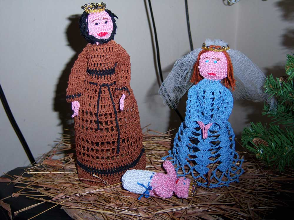 Crochet Patterns Nativity Scene : Amigurumi Nativity Pattern ~ Free Crochet Patterns