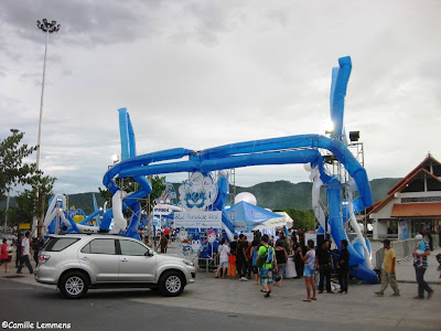 Blue Paradise Fest, Chaweng Lake, entrance