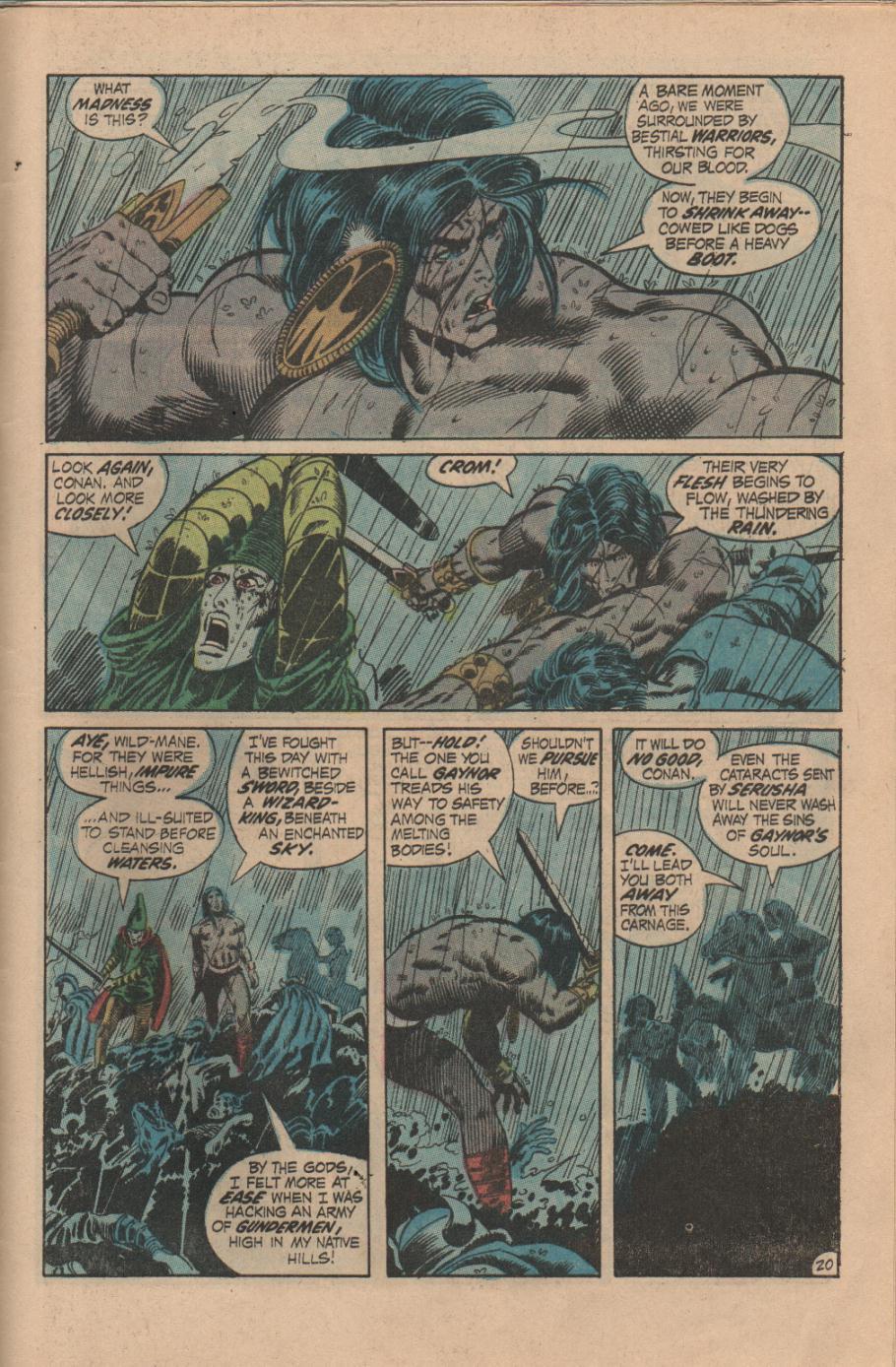 Conan the Barbarian (1970) Issue #14 #26 - English 21