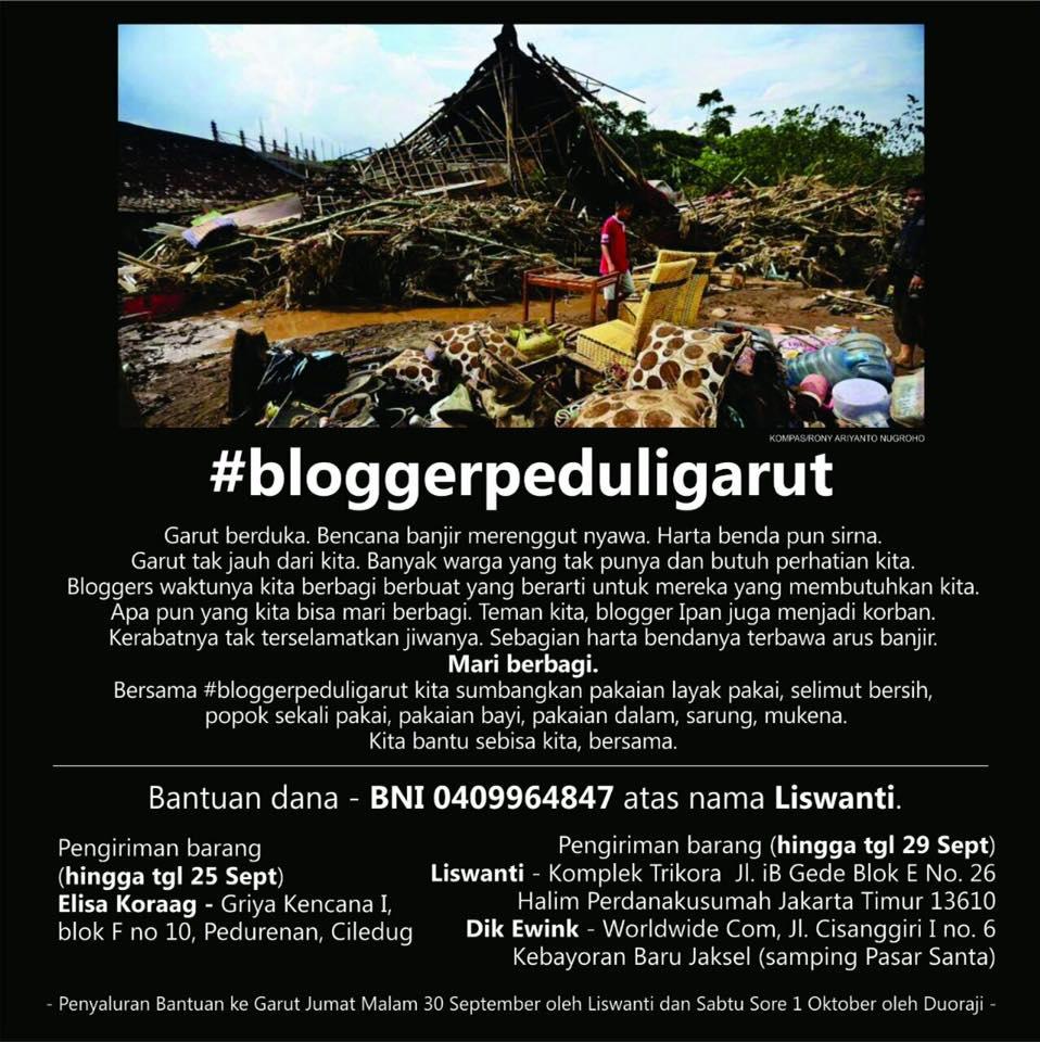 #BloggerPeduliGarut