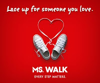 image MS Walk poster Lace up for somone you love