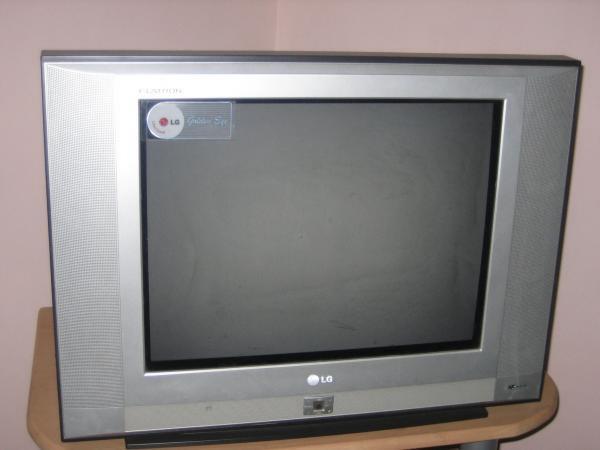 TV LG 21ca82v kondisi mati total