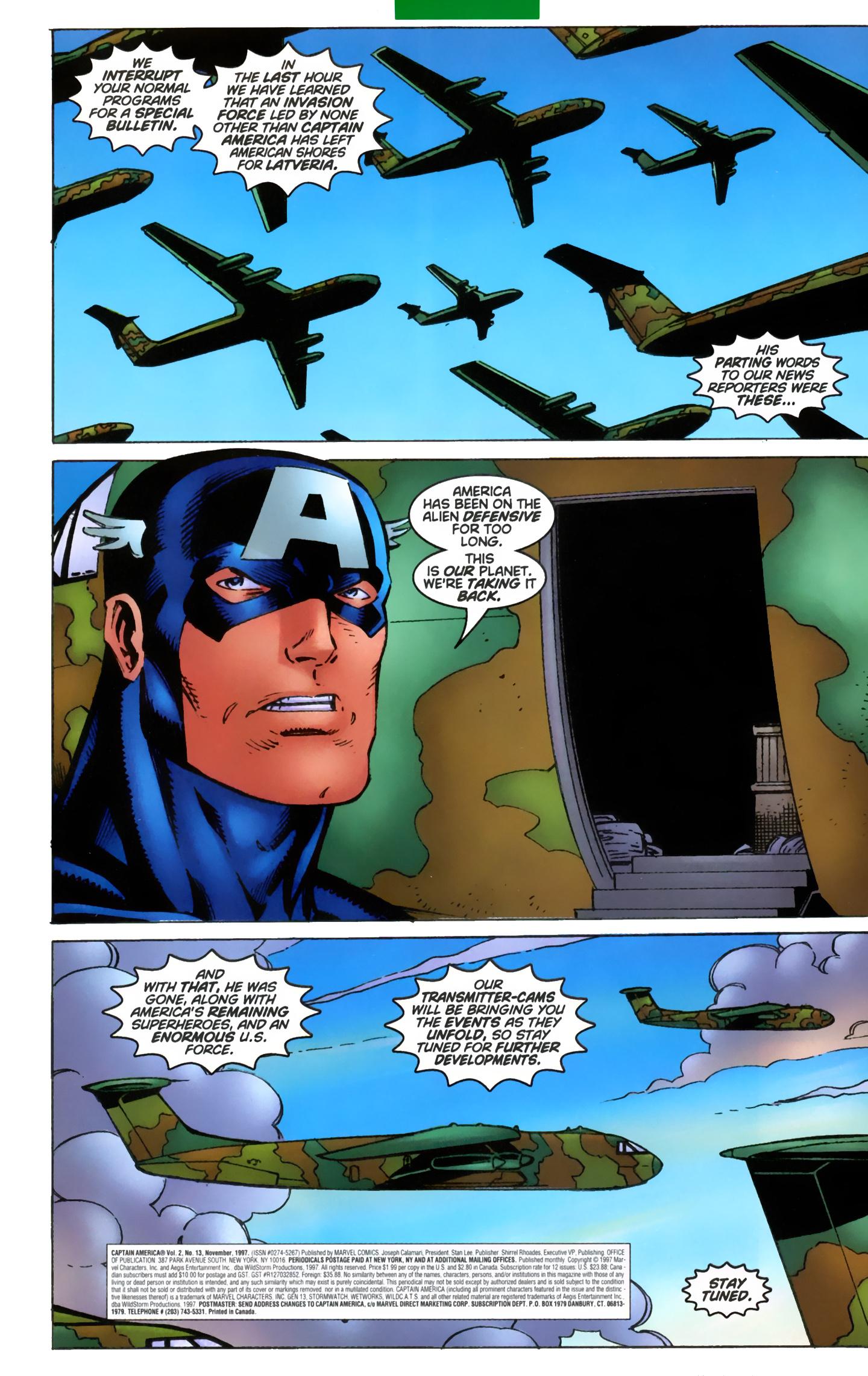 Captain America (1996) Issue #13 #19 - English 3