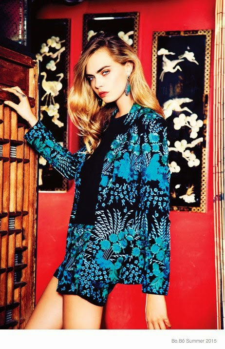 Bo.Bo Spring/Summer 2015 Campaign featuring Cara Delevingne