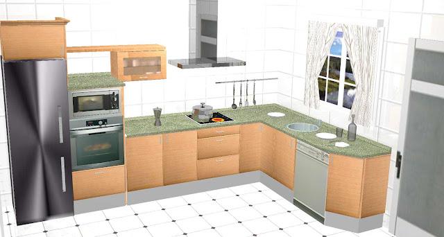 Dise amos su cocina en 3d cocinas en teruel web en venta for Programa de diseno de cocinas integrales
