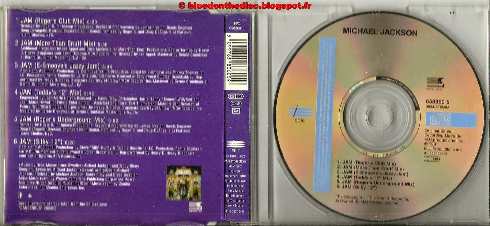 Jam Maxi CD Single #2