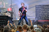 Hunter Hayes at the 2012 Gibson County Fair