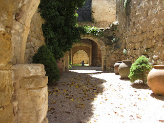 Patio interior del Castillo de Pedraza