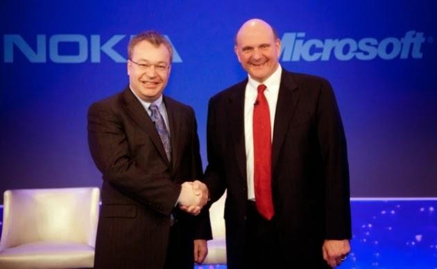 Nokia sát nhập vào Microsoft