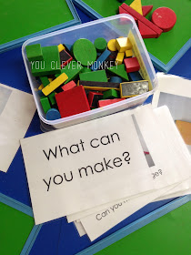Block play - why it's important and ideas for play #youclevermonkey