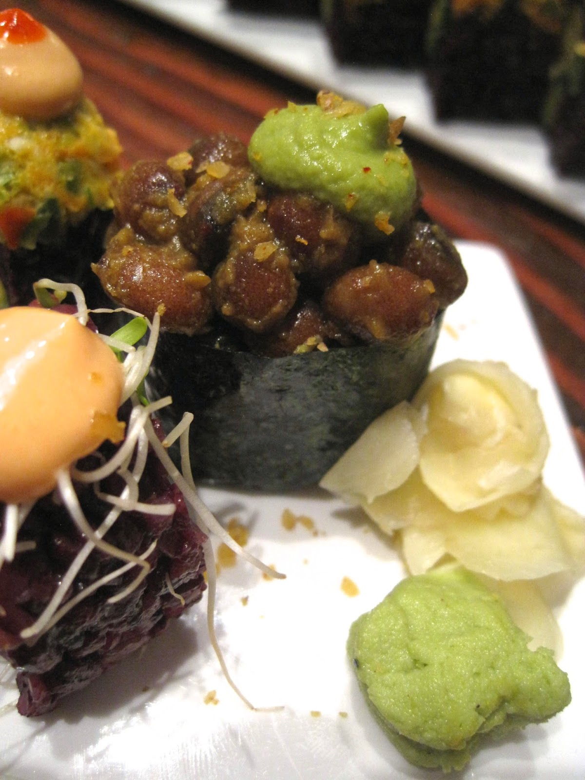 Roll of the Month - Beyond Sushi NYC Vegan