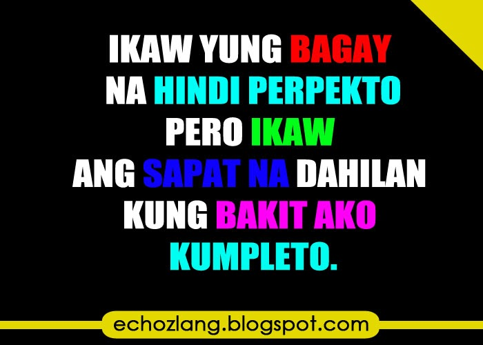 february 2014 echoz lang tagalog quotes collection