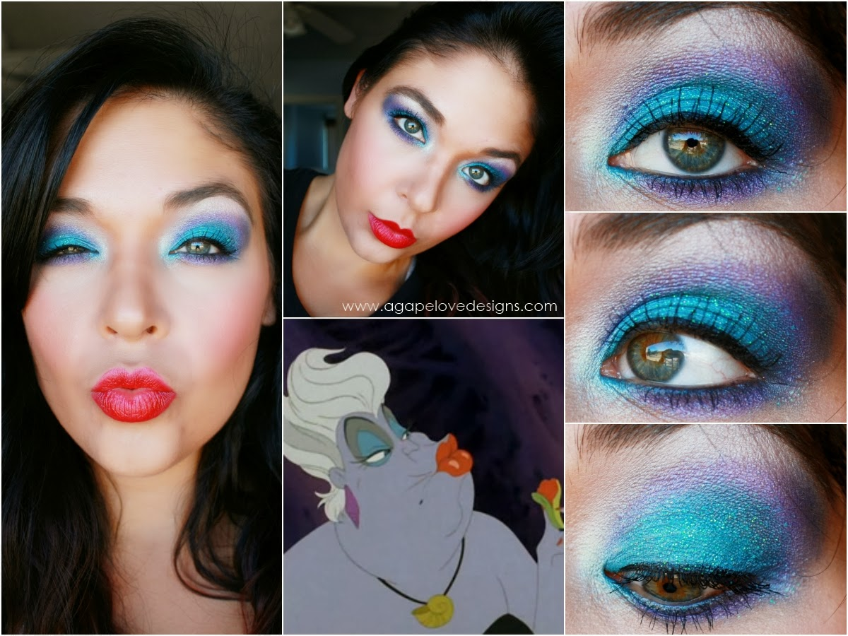 Little mermaid makeup