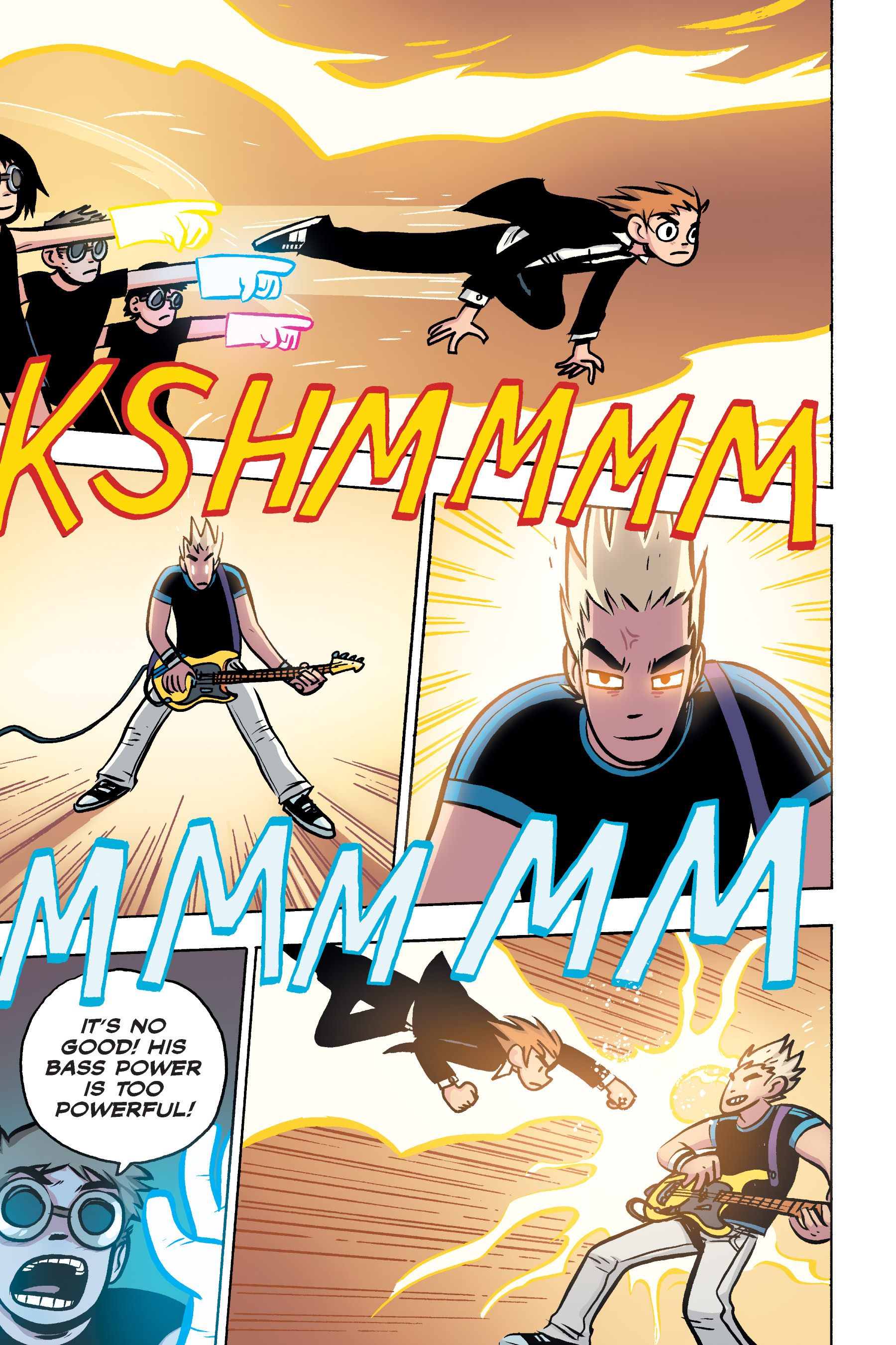 Read online Scott Pilgrim comic -  Issue #3 - 157