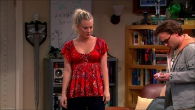 "Penny's Free People Sun Kissed Florals Babydoll The Big Bang Theory Season 6, Episode 13: ""The Bakersfield Expedition"""