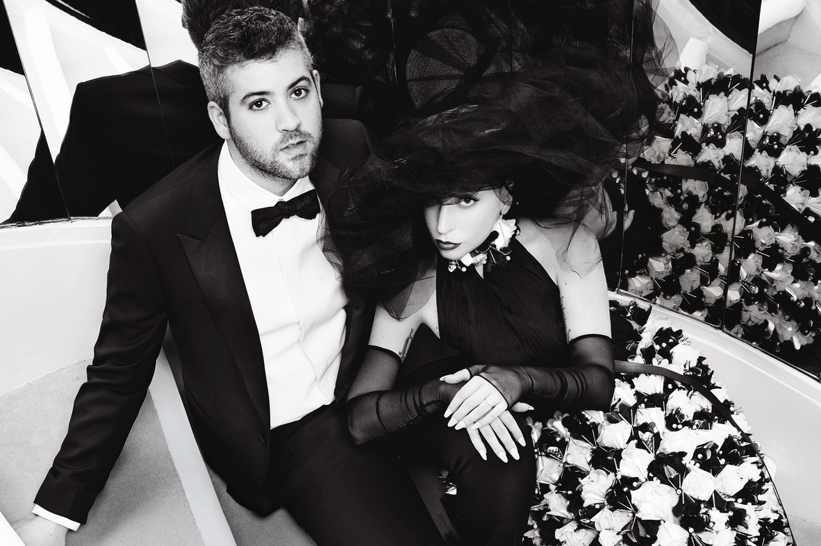 Lady Gaga y Brandon Maxwell