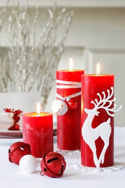 C mo decorar una vela para navidad mimundomanual - Velas decoradas para navidad ...