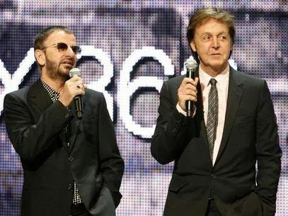 Paul McCartnet, Ringo Starr, Beatles, music