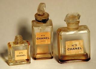 Vintage Chanel No.5 mini perfume bottles