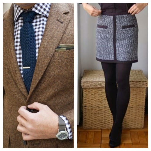 Men and Women Fall Tweed