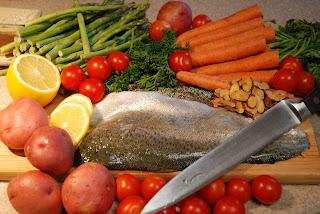trout stuffed