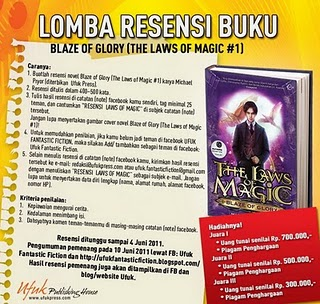 LOMBA RESENSI LAW OF MAGIC dunialombaku.blogspot.com