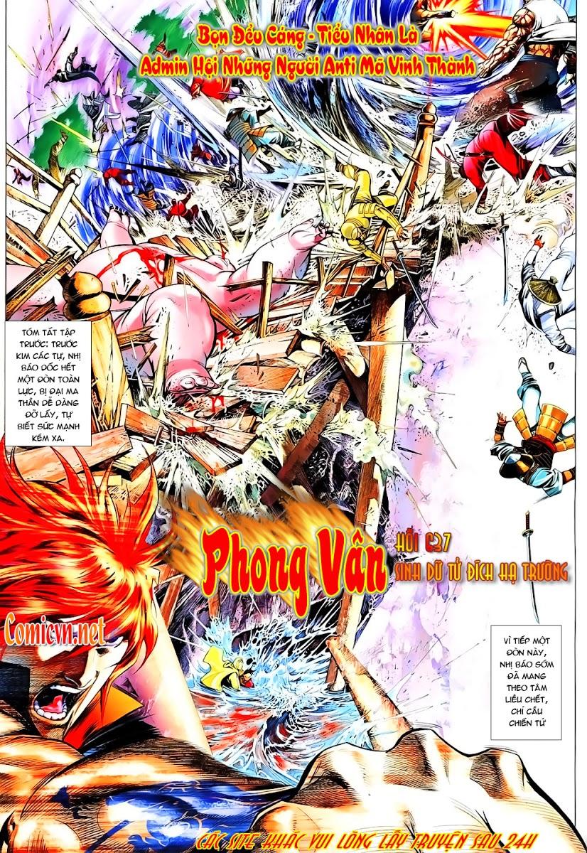 Phong Vân chap 637 Trang 2 - Mangak.info