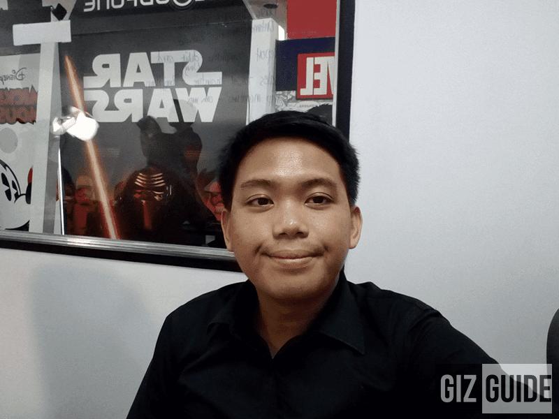 Gionee Marathon M5 selfie sample