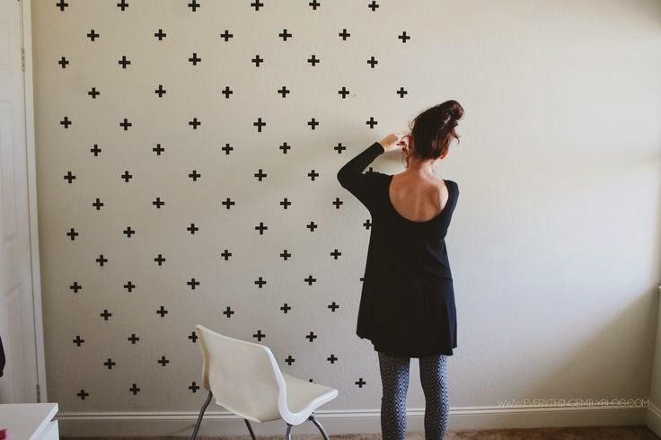 Pretty Pretty Washi Tape Wall