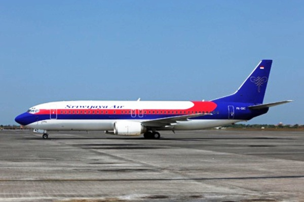 Sriwijaya Air B737-4Q8 PK-CKC