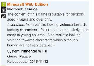 Minecraft es listado para Nintendo Wii U 2