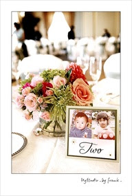 Wedding Reception Table Number Ideas - The White Room Birmingham
