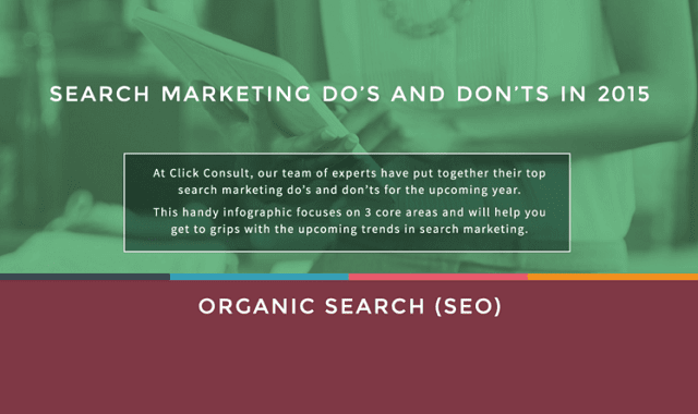 Search Marketing Do's and Don'ts in 2015