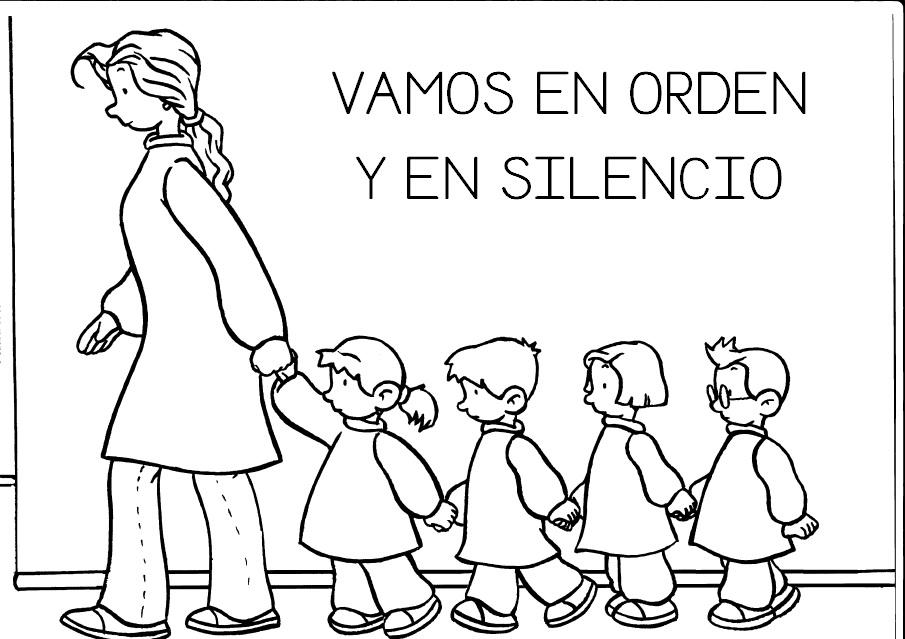 COSITAS PARA EL COLE: NORMAS DEL AULA INFANTIL (MAYÚSCULAS)