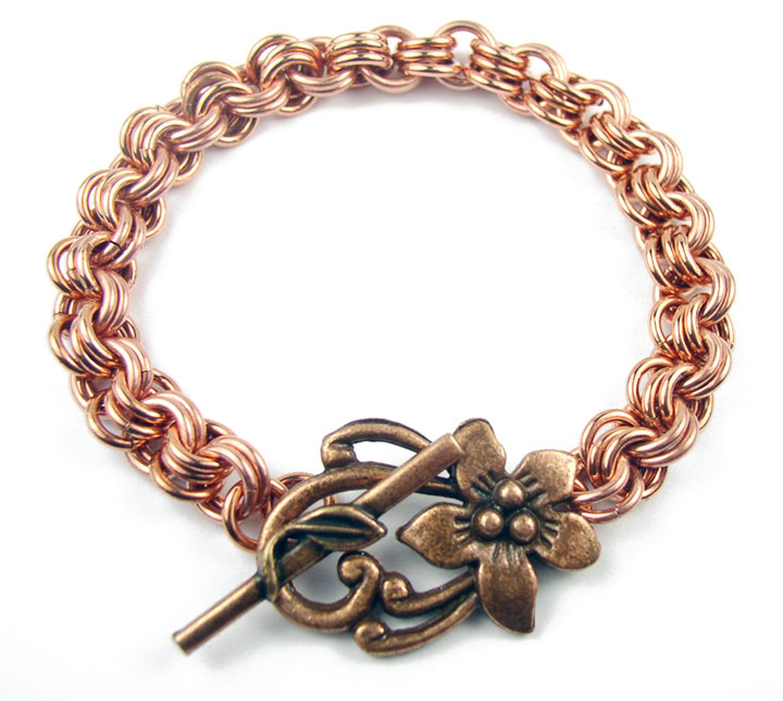 DIONYSOS MENS COPPER MAGNETIC BRACELET - MAGNETIC BRACELETS AND