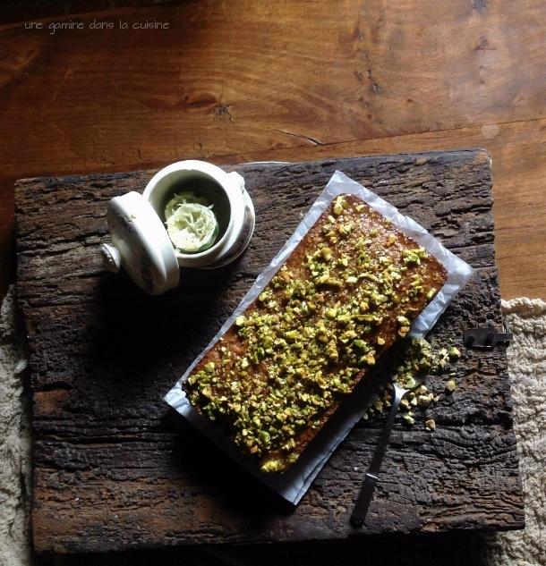 Pistachio & Almond Cake (gluten-free) | une gamine dans la cuisine