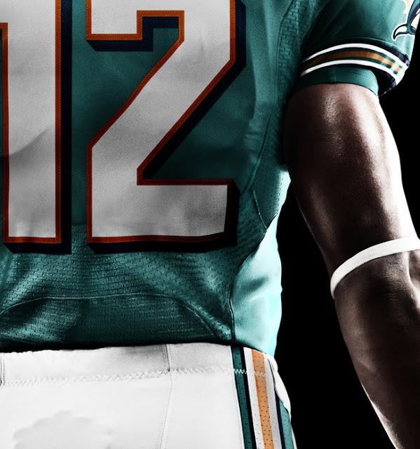 Miami Dolphins 2012 Nike Football Uniform