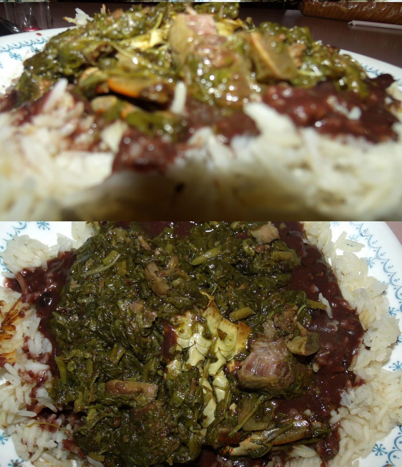 Haitian Food Legume My Haitian Plate: Lalo...