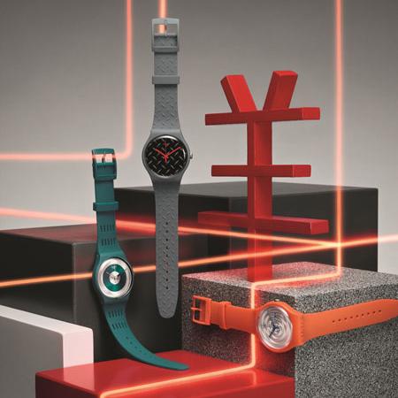 relógios Swatch coleção inverno