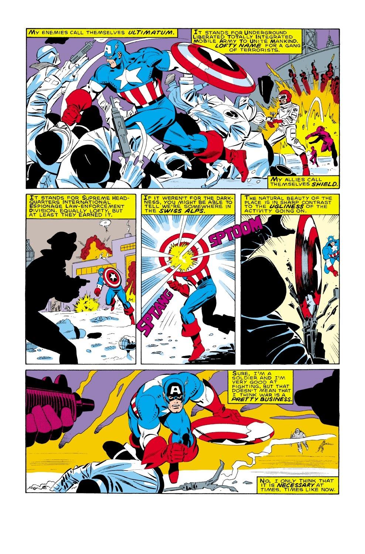 Captain America (1968) Issue #322 #250 - English 3
