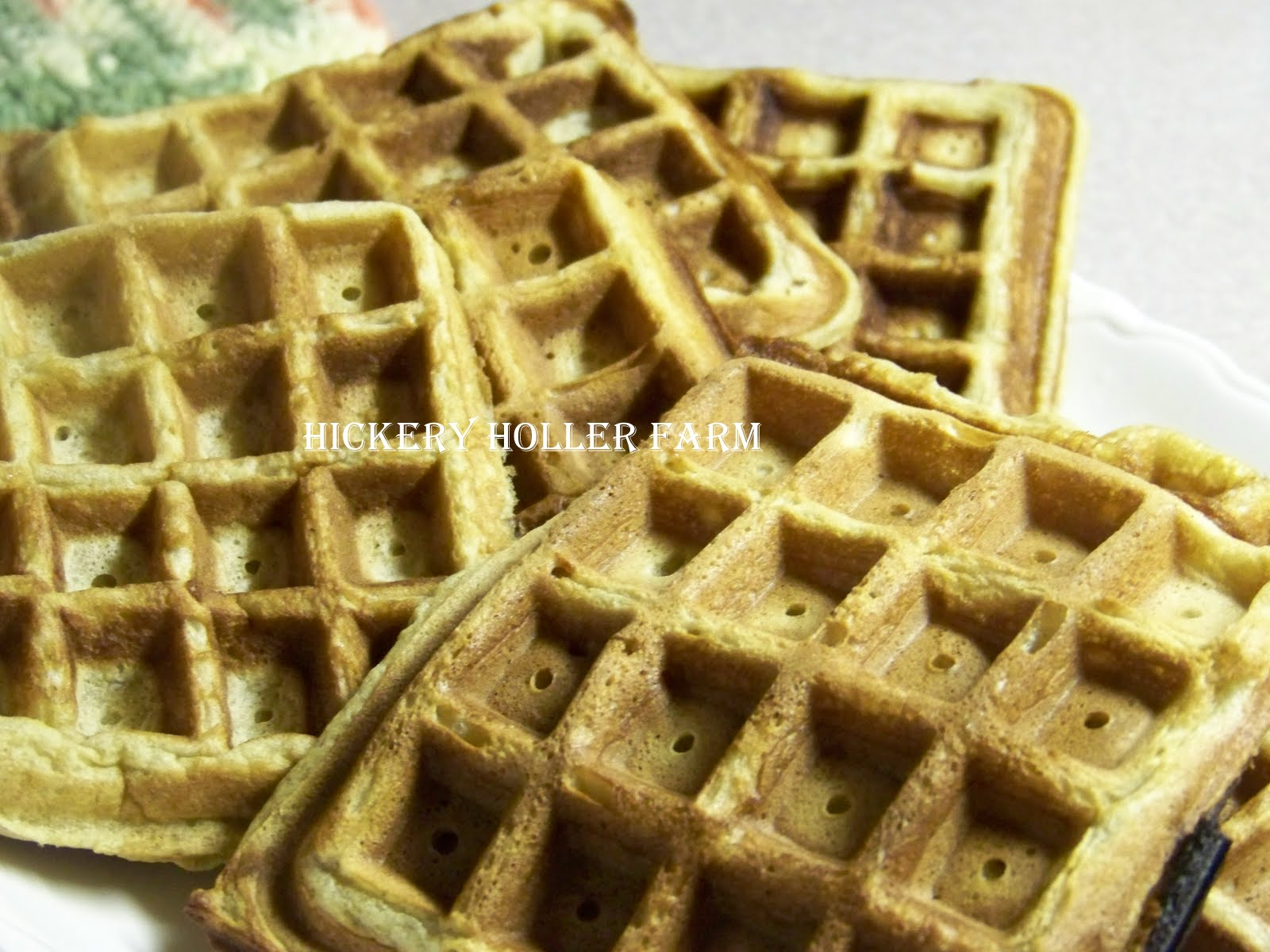 Buttermilk, Brown Sugar & Cinnamon Waffles